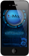iMapWeather Radio iPhone App